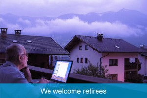 We welcome retirees